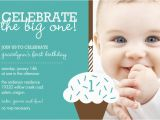 Babys First Birthday Invitations Free Baby First Birthday Invitation orderecigsjuice Info