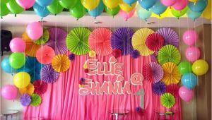 Background Decoration for Birthday Party at Home Birthday Backdrop Decorations Birthday Decoration