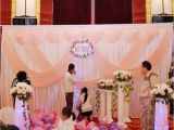 Background Decoration for Birthday Party at Home Pink Wedding Backdrop Party Stage Wedding Decoration