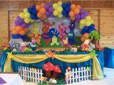 Backyardigans Birthday Decorations Backyardigans Birthday Party Ideas Photo 3 Of 12 Catch