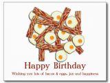 Bacon Birthday Meme Happy Birthday with Eggs and Bacon Baconcoma Com