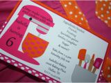Baking Birthday Party Invitations Free Baking Cooking Party Printable Invitations by Bellagrey