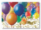 Balloon Birthday Card Sayings Balloon Cluster Happy Birthday Cards for Cheerful Birthday