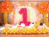 Balloon Decoration for Birthday Girl 10 Stunning First Birthday theme Decorations for Your Baby