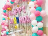 Balloon Decoration for Birthday Girl Happy Birthday Party Decoration Balloon Princess Unicoran