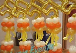 Balloon Decorations For 50th Birthday 17 Best Images About Milestone On Pinterest