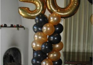 Balloon Decorations For 50th Birthday Special Events Decor Drops