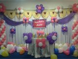 Balloon Decorations for Baby Birthday Baby Girls Birthday Party Decoration Bangalore