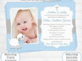 Baptism and Birthday Party Invitations Birthday Invitations Birthday and Baptism Invitations