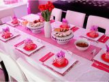 Barbie Birthday Decorations Ideas Kara 39 S Party Ideas Glamorous Barbie Birthday Party Via