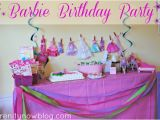 Barbie Birthday Decorations Ideas Serenity now Throw A Barbie Birthday Party at Home