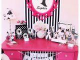 Barbie Birthday Decorations Ideas Vintage Barbie Inspired Birthday Party Pizzazzerie