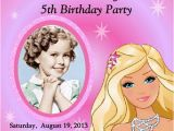 Barbie Birthday Invitation Card Free Printable 10 Marvellous Barbie Birthday Invitation Card Free
