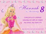 Barbie Birthday Invites 10 Marvellous Barbie Birthday Invitation Card Free