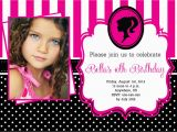 Barbie Birthday Invites Barbie Birthday Invitation Partyexpressinvitations
