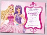 Barbie Birthday Invites Barbie Birthday Invitation Templates