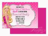Barbie Birthday Invites Eccentric Designs by Latisha Horton Barbie Birthday
