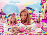 Barbie Decorations Birthday Party Games Barbie Party Supplies Barbie Birthday Party City