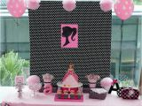 Barbie Decorations Birthday Party Games Kara 39 S Party Ideas Barbie themed Birthday Party Ideas