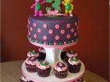 Barney Birthday Cake Decorations Barney Birthday Cake Cupcakes Cakecentral Com
