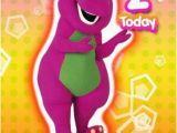 Barney Birthday Card Barney Birthday Card Ebay