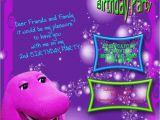Barney Birthday Card Barney Birthday Cards 2 Card Design Ideas