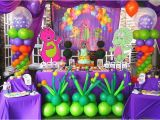 Barney Birthday Decorations Barney Birthday Party for Babies Home Party Ideas