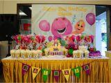Barney Birthday Decorations Barney Birthday theme Firefly Inspired