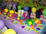 Barney Birthday Decorations Quot Barney Quot Party Table Flickr Photo Sharing