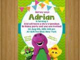 Barney Birthday Invitations Free Items Similar to Barney Barney Invitation Barney Party