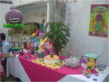 Barney Birthday Party Decorations Barney the Dinosaur Birthday Party Ideas Photo 2 Of 9