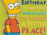 Bart Simpson Birthday Card Birthday Card Grandson Archives Dot2dot Cards Gifts