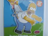 Bart Simpson Birthday Card Simpsons Birthday Card for A Nephew by Hallmark Ebay