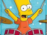 Bart Simpson Birthday Card the Gallery for Gt Happy Birthday Simpsons Card