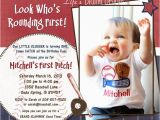 Baseball 1st Birthday Invitations 1000 Images About Ideas for Jace 39 S 1st Birthday Party On