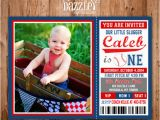 Baseball 1st Birthday Invitations Printable Baseball Ticket Birthday Photo Invitation Boys