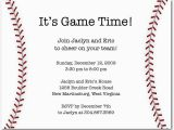 Baseball Birthday Invitation Wording Baseball Party Invitation Wording
