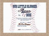 Baseball themed First Birthday Invitations Baseball themed Birthday First Birthday Personalized