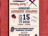 Baseball themed First Birthday Invitations Birthday Invitations Free Printable Baseball Birthday