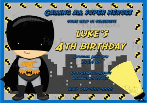Batman Birthday Invitation Template Invitations Templates Ideas
