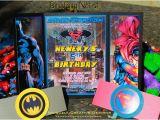 Batman Vs Superman Birthday Party Invitations Batman Vs Superman Birthday Invitations