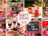 Bbq Birthday Party Decorations Gingham Picnic Party theme Picnic Party Supplies Party