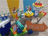 Beach theme Birthday Decorations Beach themed Kid Birthday Party Home Party Ideas