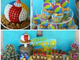 Beach theme Birthday Decorations Kara 39 S Party Ideas Beach Ball Birthday Party Supplies