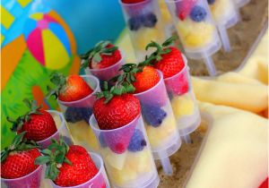 Beach Theme Birthday Decorations Kara 39 S Party Ideas Ball Supplies