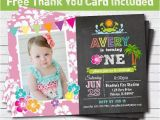 Beach themed First Birthday Invitations 25 Best Ideas About Luau Birthday Invitations On