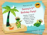 Beach themed First Birthday Invitations Beach Birthday Invitations Lijicinu 4214f8f9eba6