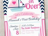 Beach themed First Birthday Invitations Best 25 Nautical Birthday Invitations Ideas On Pinterest