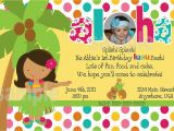 Beach themed First Birthday Invitations Hawaiian First Birthday Invitations Lijicinu A91e07f9eba6