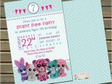 Beanie Boo Birthday Invitations 20 or 30 Printed Beanie Boo Birthday Party by